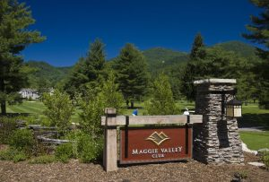 Maggie Valley Golf Course near Meadowlark Motel in the Smoky Mountains